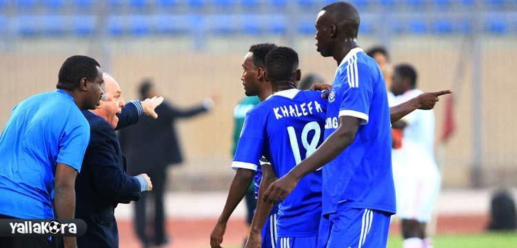 الهلال السوداني نجح في التسجيل بالزمالك