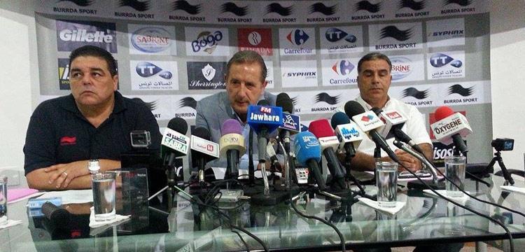 جورج ليكنيز مدرب تونس