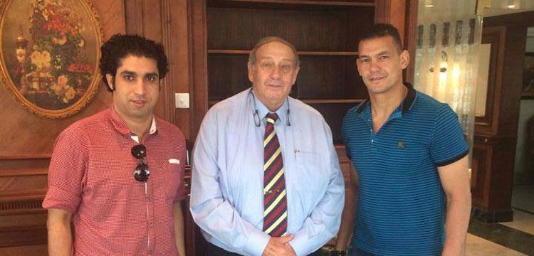 عبدالواحد السيد مع رئيس مصر المقاصة