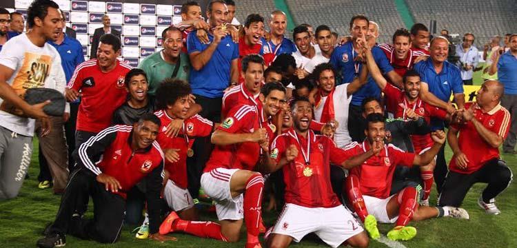 الأهلي توج بكأس السوبر المصري 2014