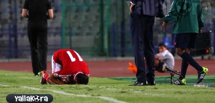وليد سليمان لاعب الأهلي جاهز لسيوي