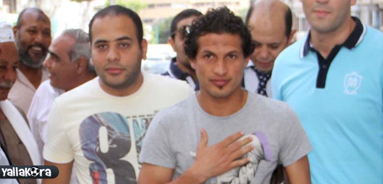 طارق حامد لاعب الزمالك - صورة أرشيفية