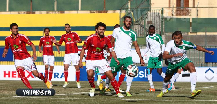 حسام غالي في مباراة المصري