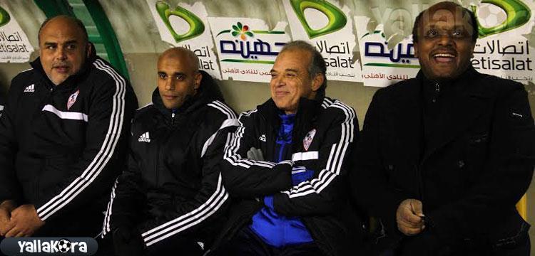 اسماعيل يوسف مدير الكرة بالزمالك