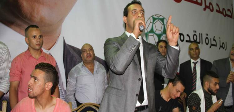 أحمد مرتضى منصور ولاعبو الزمالك