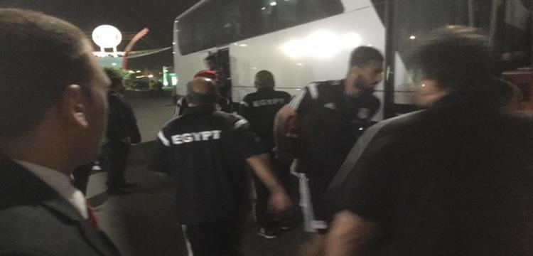المنتخب يغادر الى ملعب المباراة