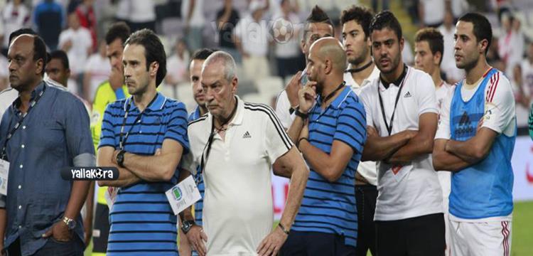 جيسوالدو فيريرا وخلفه علاء عبد الغني
