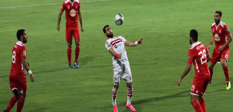 باسم مرسي لاعب الزمالك