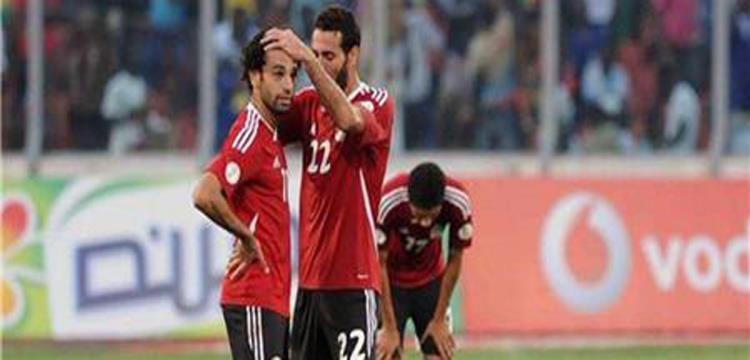 جانب من مباراة مصر وغانا - صورة ارشيفية