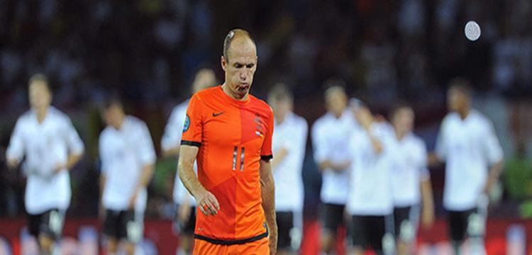 روبن لاعب هولندا