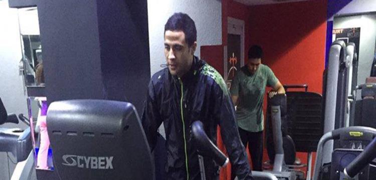 محمد إبراهيم خلال برنامج الإعداد