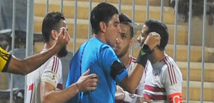 إبراهيم نور الدين حكم المباراة