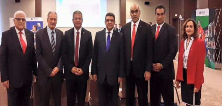 الوفد المصري لتقديم ملف استضافة مونديال كرة اليد