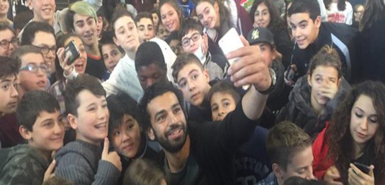 محمد صلاح من الأطفال