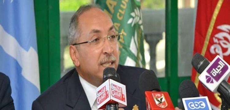 محمود مشالي، رئيس نادي الاتحاد السكندري