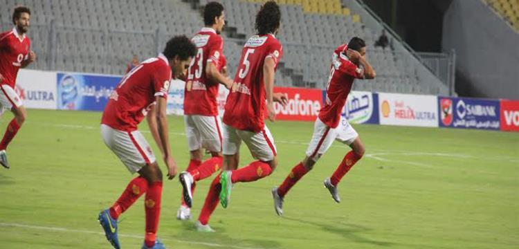 الأهلي في احدى المباريات على ملعب برج العرب