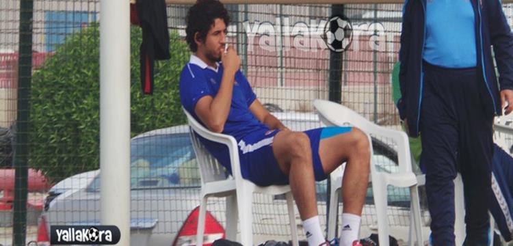 أحمد حجازي بعد تعرضه للإصابة