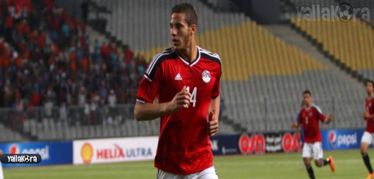 رمضان صبحي لاعب النادي الأهلي