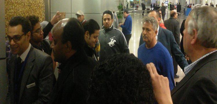 باكيتا يصل القاهرة
