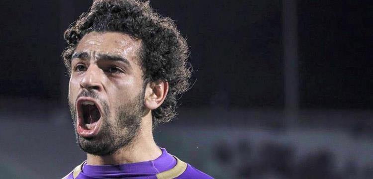 محمد صلاح لاعب فريق فيورنتينا الإيطالي