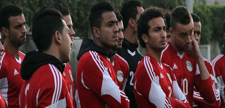 منتخب مصر الأوليمبي في التدريبات