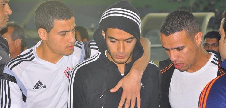 عمر جابر لاعب فريق الزمالك