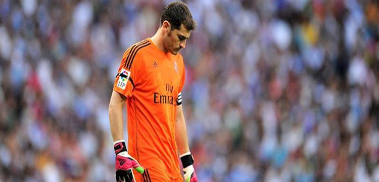 كاسياس بقميص ريال مدريد