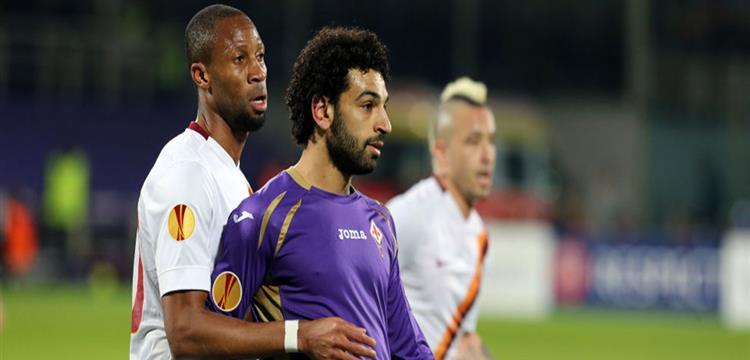 محمد صلاح لاعب الفيولا