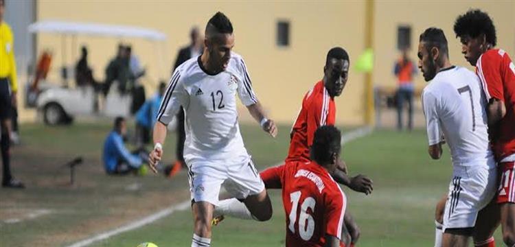 حازم إمام بقميص المنتخب المصري