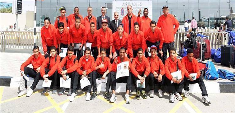 فريق شباب الأهلي المشارك في بطولة هزاع بن زايد