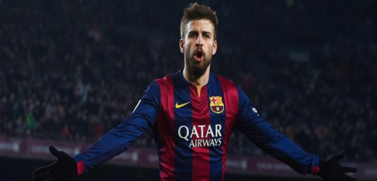 بيكيه نجم دفاع برشلونة