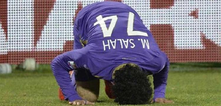 محمد صلاح بالقميص رقم 74