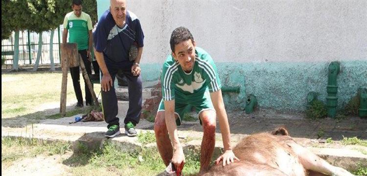 أحمد رؤوف لاعب النادي المصري