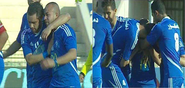 عفروتو يبكي بعد هدف الأهلي