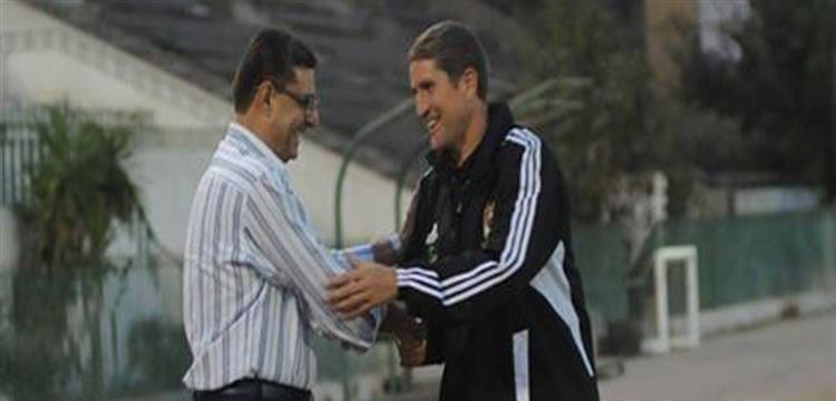 جاريدو مع محمود طاهر في صورة أرشيفية