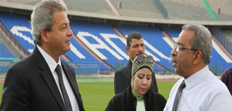 صورة ارشيفية - وزير الشباب والرياضة