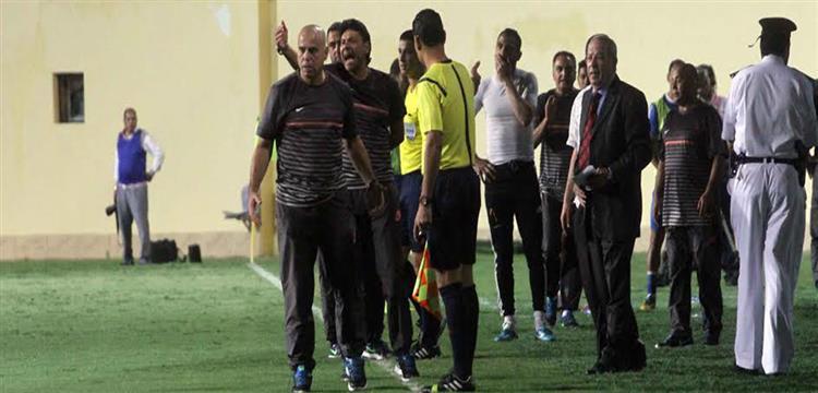اعتراض الجهاز الفني للشرطة على حكم مباراة الفريق أمام الزمالك