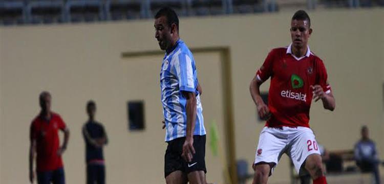 سعد سمير لاعب الأهلي في لقطة أرشيفية