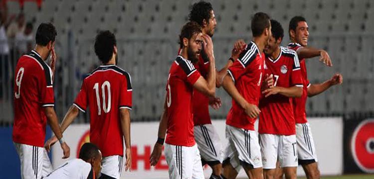 لاعبو منتخب مصر - صورة أرشيفية