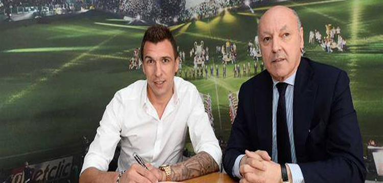 ماندزوكيتش لاعب يوفنتوس الإيطالي