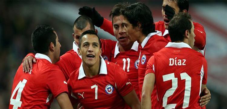 لاعبو منتخب تشيلي - صورة أرشيفية