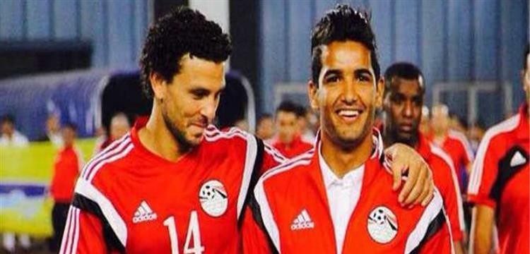 صالح جمعة وحسام غالي