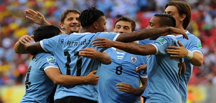 لاعبو أوروجواي