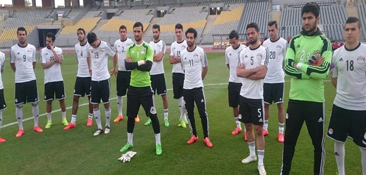 منتخب مصر يتأهب لمواجهة تنزانيا