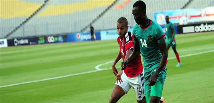 زيمبابوي في مباراة أمام مصر