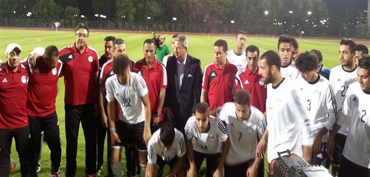 منتخب مصر الأولمبي ووزير الرياضة