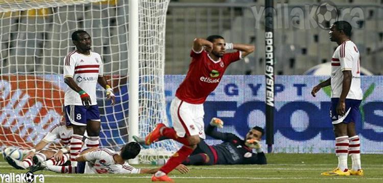 الأهلي فاز بالقمة الوحيدة على ملعب برج العرب
