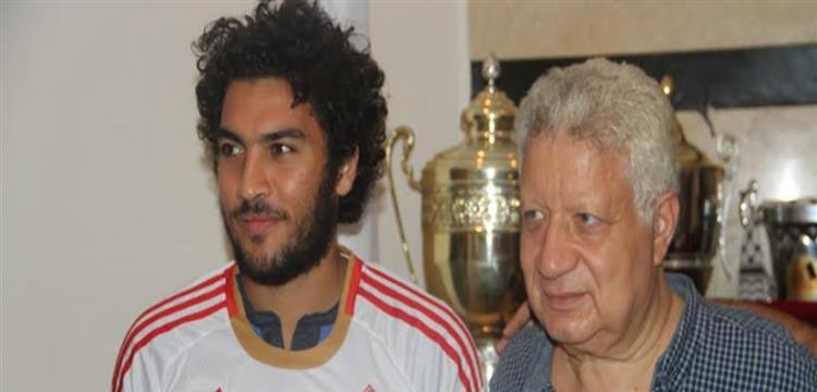 شريف علاء ومرتضى منصور