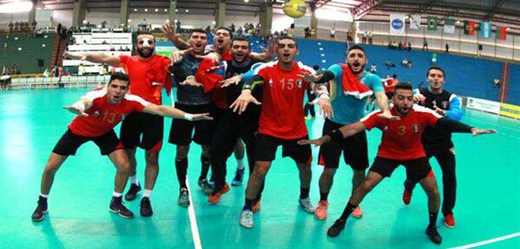 لاعبو منتخب مصر للشباب لكرة اليد