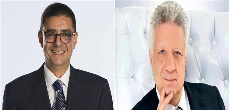 محمود طاهر ومرتضى منصور